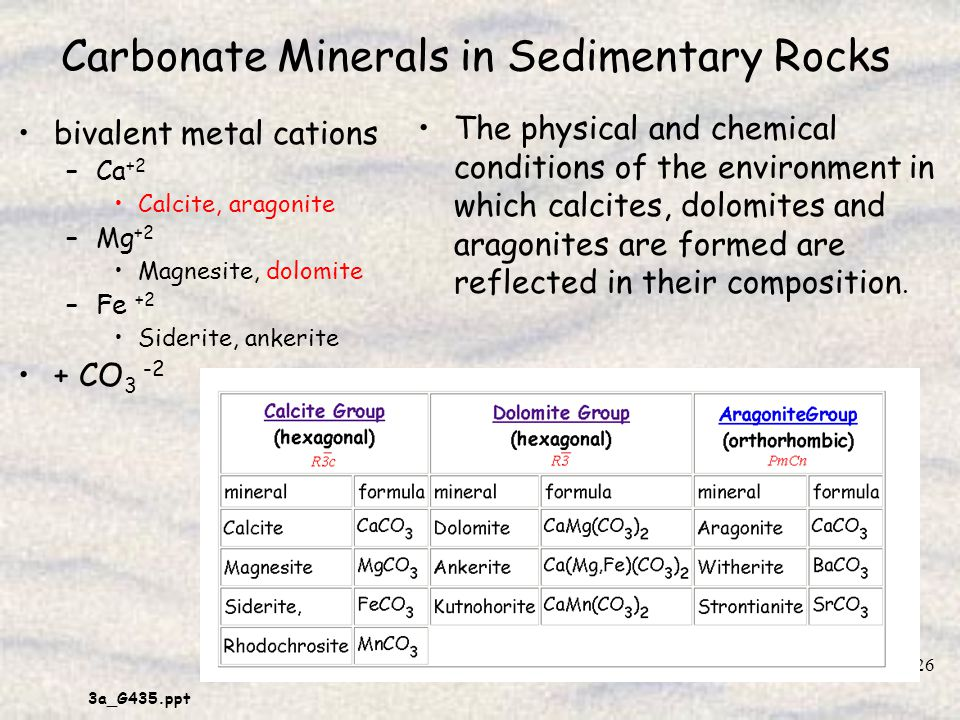 carbonate sedimentary rocks The slow carbon cycle through a series of chemical reactions and tectonic activity, carbon takes between 100-200 million years to move between rocks, soil, ocean, and atmosphere in the slow carbon cycle.