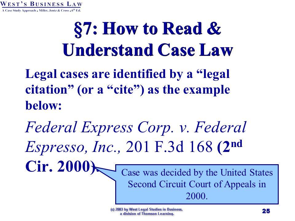 how to write a legal citation