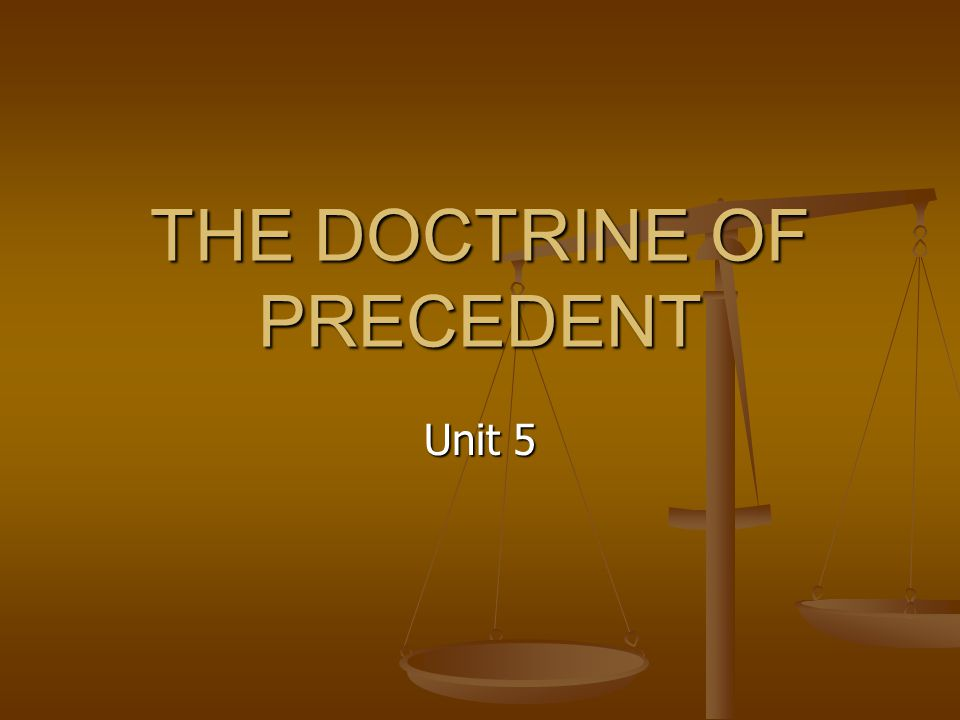 the doctrine of judicial precedent is Start studying the doctrine of judicial precedent learn vocabulary, terms, and more with flashcards, games, and other study tools.
