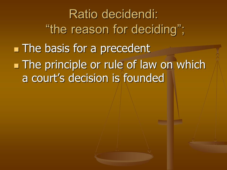 the doctrine of precedent Stare decisis/doctrine of precedent: stare decisis (―the decision stands‖) or the doctrine precedent is the basis of australia's system of common law when a.