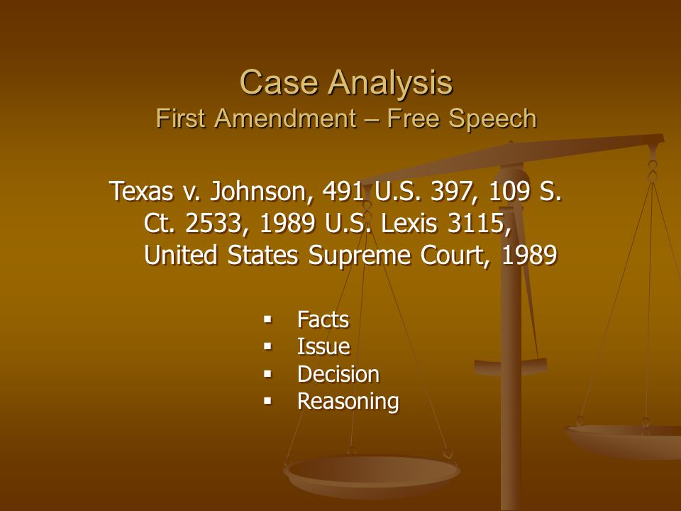 "an analysis of first amendment Later, courts used the watts factors in true-threat analysis hudson, david l jr ""true threats and the first amendment,"" first amendment center."