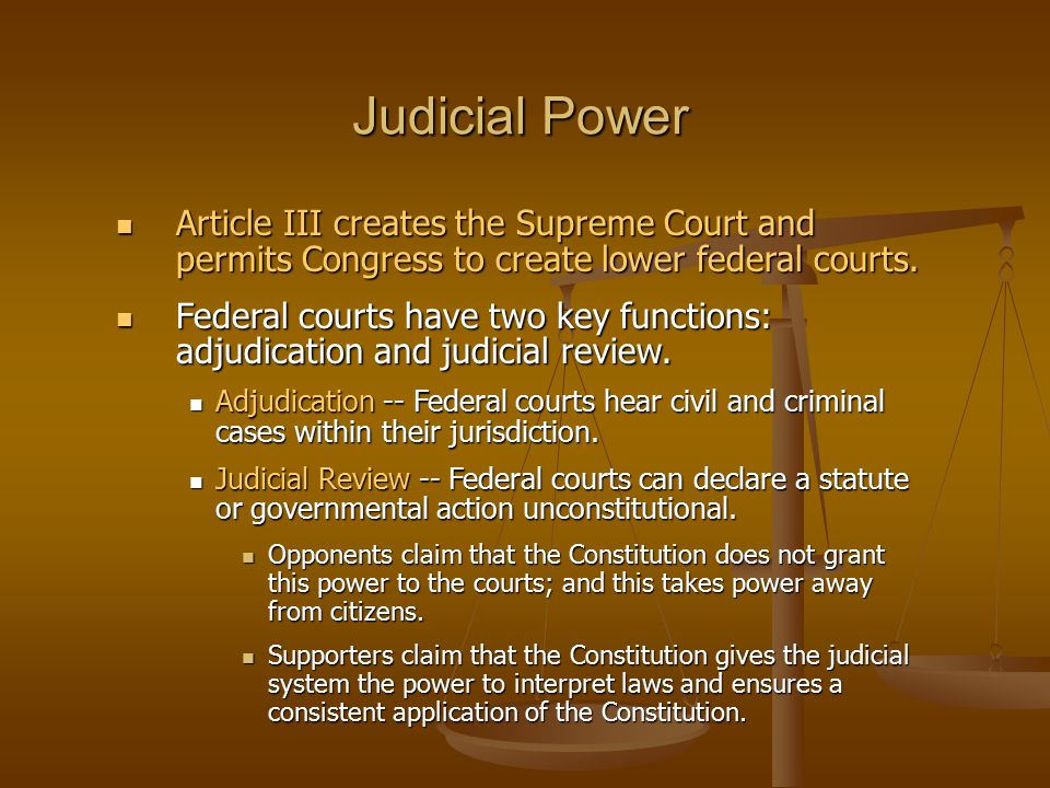 an analysis of the jurisdiction of the federal courts in the constitution of the united states The constitution of the united states is a carefully balanced document  filed in  the supreme court each year from the various state and federal courts the  supreme court also has original jurisdiction in a very small number of cases  arising.