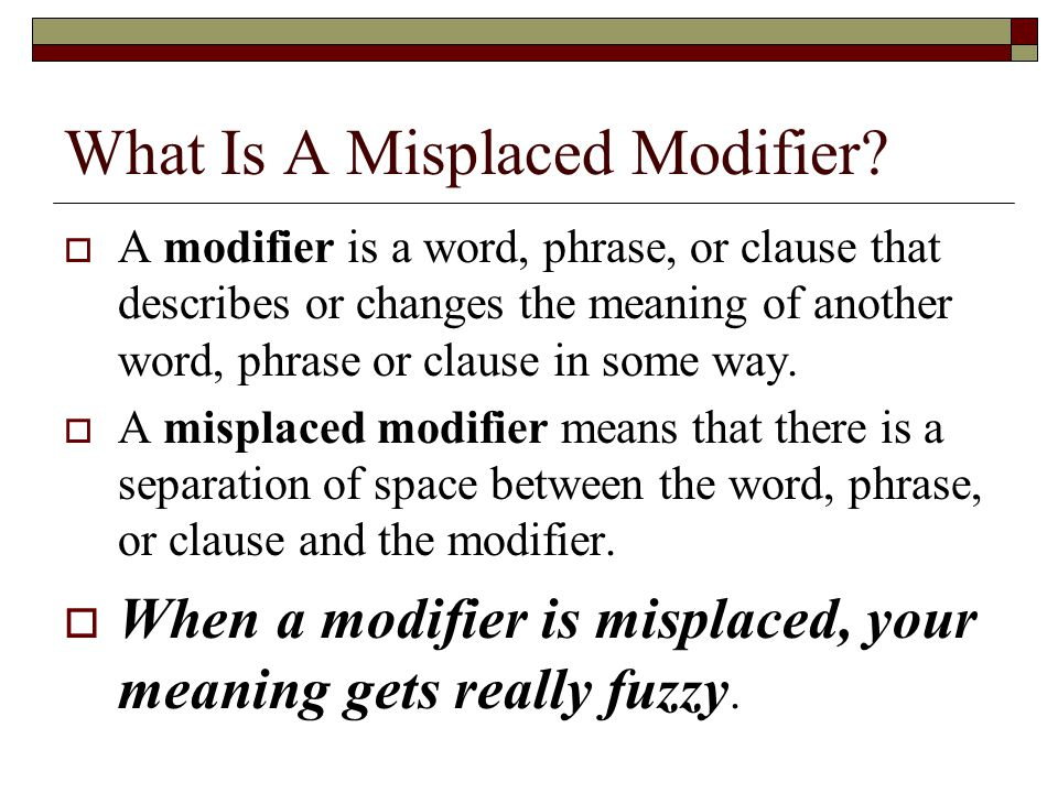 Misplaced and Dangling Modifiers ppt video online download – Dangling and Misplaced Modifiers Worksheet