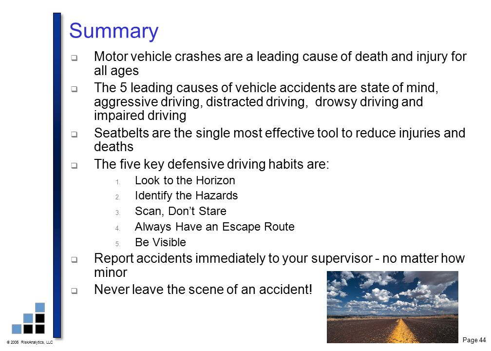 Driver Safety Training Ppt Video Online Download