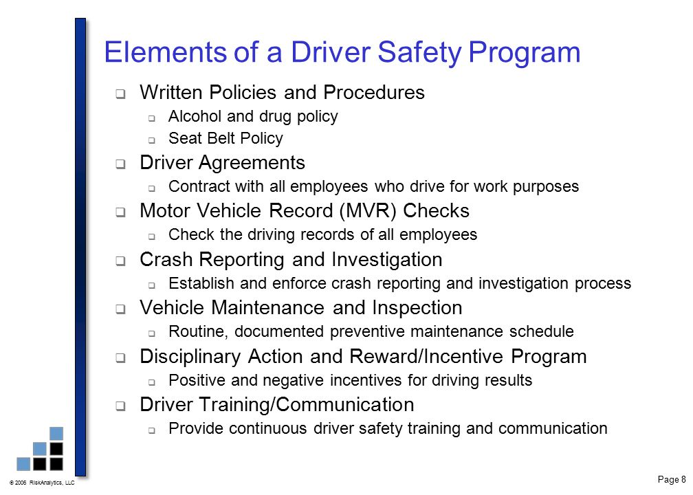 Driver safety training ppt video online download for Motor vehicle record check
