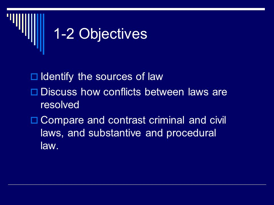 compare and contrast criminal law and civil law Compare and contrast international criminal justice systems (civil law, common law, and islamic law and socialist law traditions)cja 484 week.