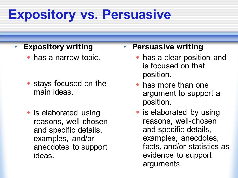 strategies for writing an expository essay powerpoint