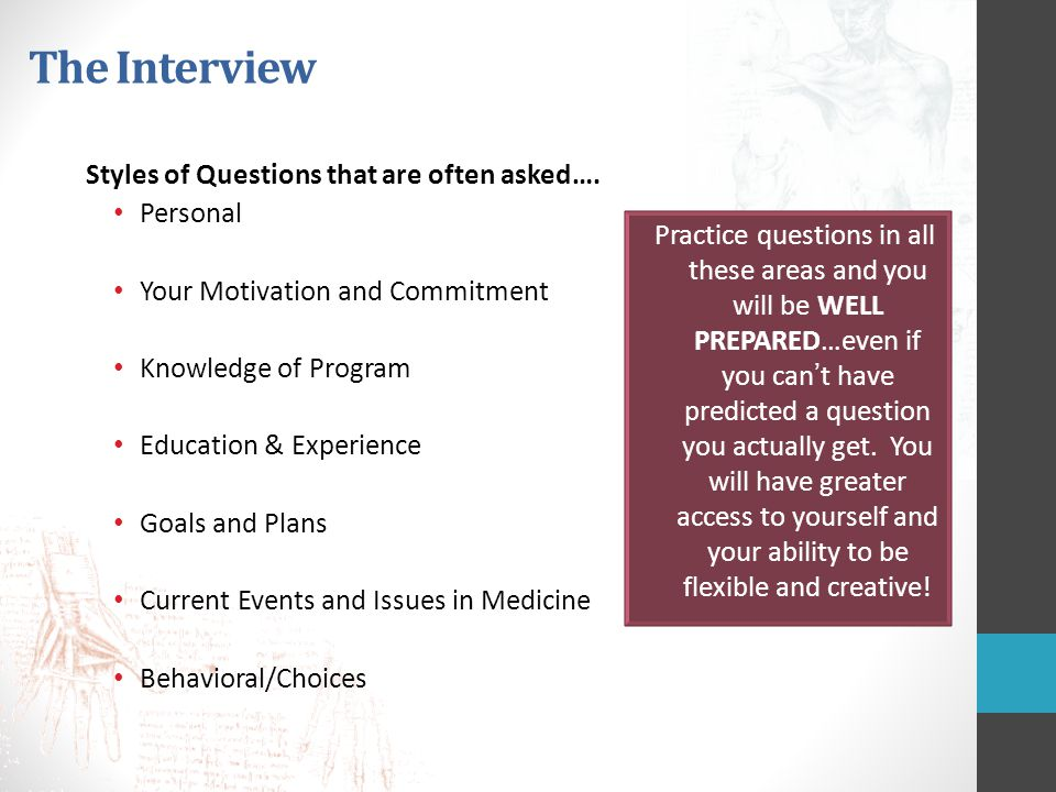 behavioral style interview