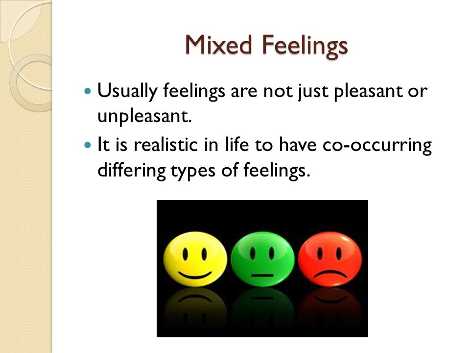 Emotions should not be mixed with reasoning