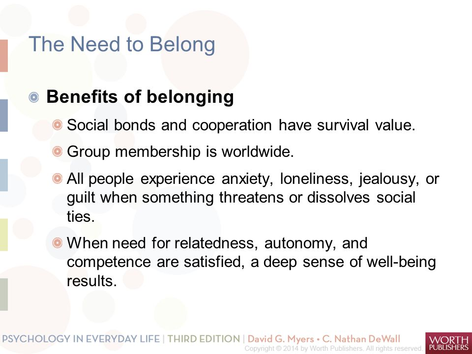 Belongingness