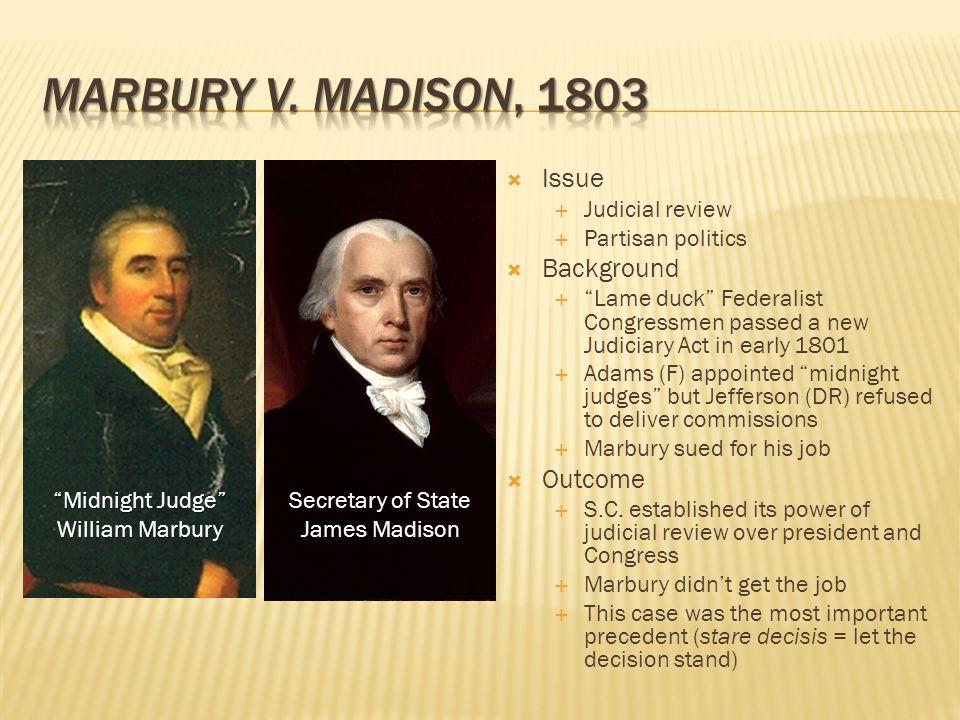 Marbury contro Madison - Wikipedia
