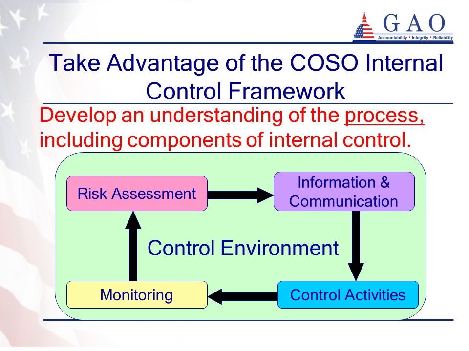 Take Advantage of the COSO Internal Control Framework