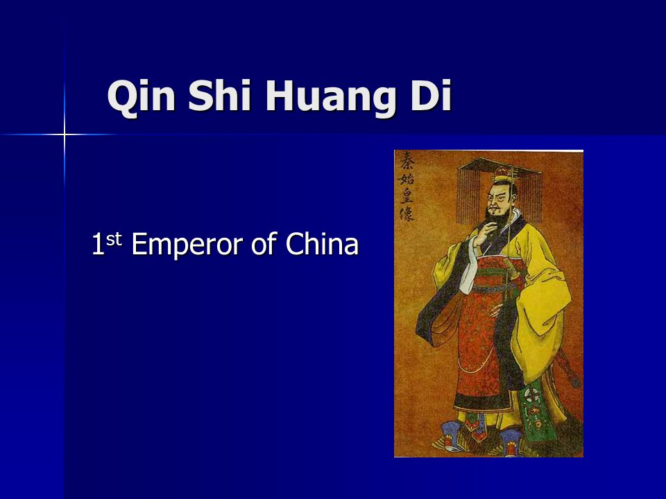 Qin shi huang di 1st emperor of china ppt video online download 1 qin shi huang di 1st emperor of china sciox Gallery