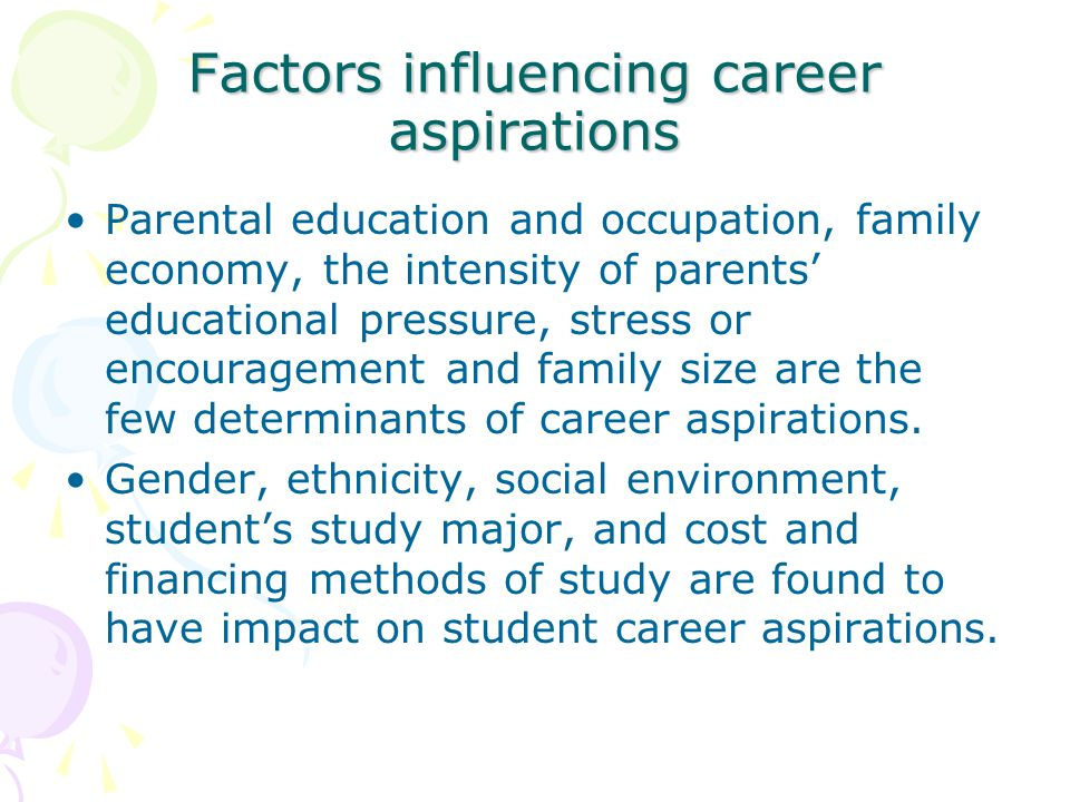 "teacher's professional development factors influencing students' This paper reviews factors that contribute to the development of middle school   and teachers, influence student ratings of ""career interest"" (the type of career."