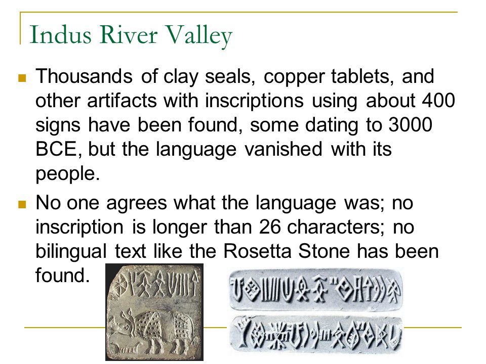 Indus River Valley