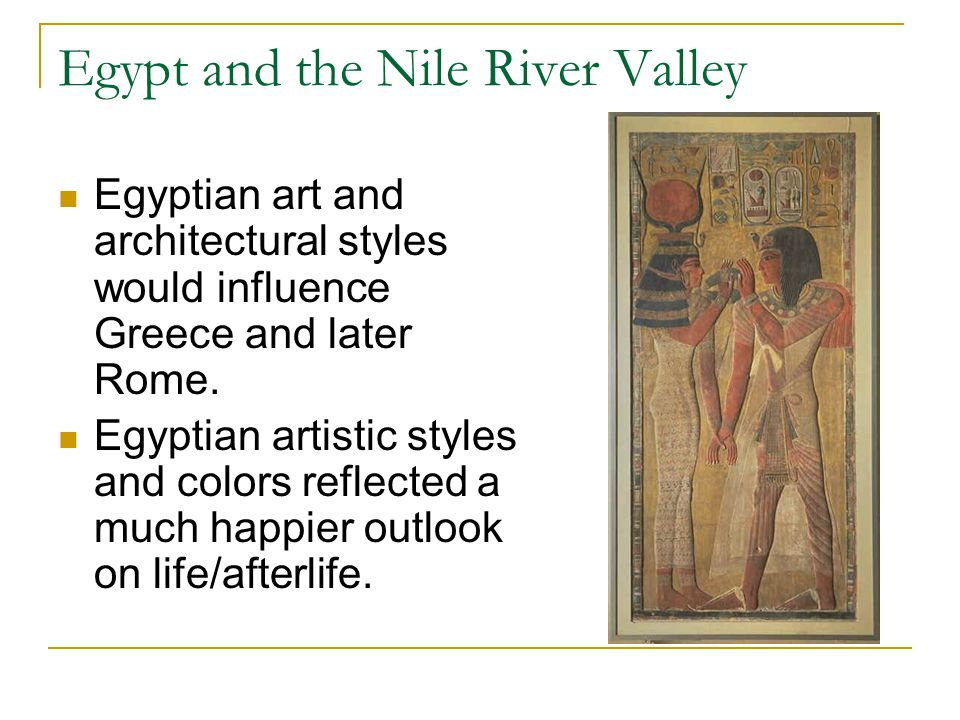 Egypt and the Nile River Valley