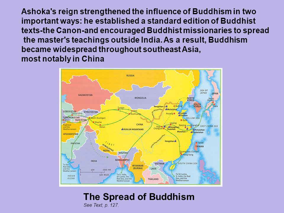 how buddhist teachings established their place in china Dharma refers to the teachings, and sutras, in a buddhist context, are sacred texts or scriptures, many of which are considered to be transcriptions of the oral teachings of the buddha throughout the history of zen, teachers have transmitted their realization of dharma to students by working with them face-to-face.