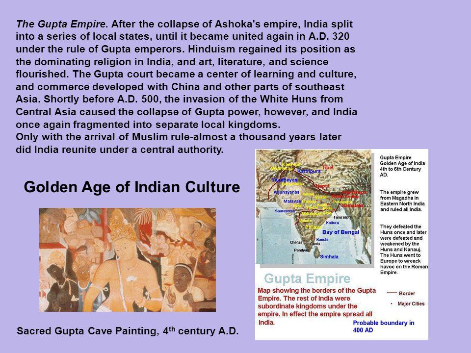 flourishing of indian culture in gupta empire essay