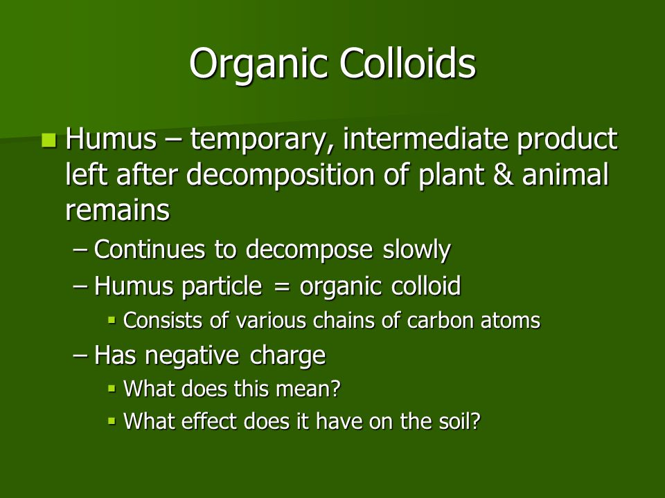 Unit 6 soil chemical properties ppt video online download for What is meant by soil