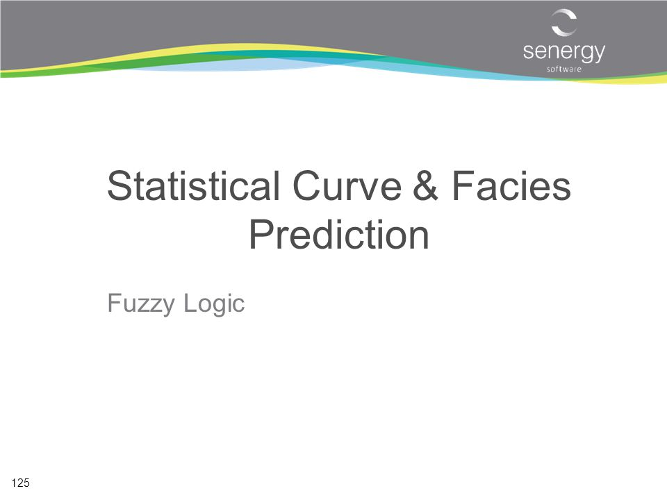 Statistical Curve & Facies Prediction
