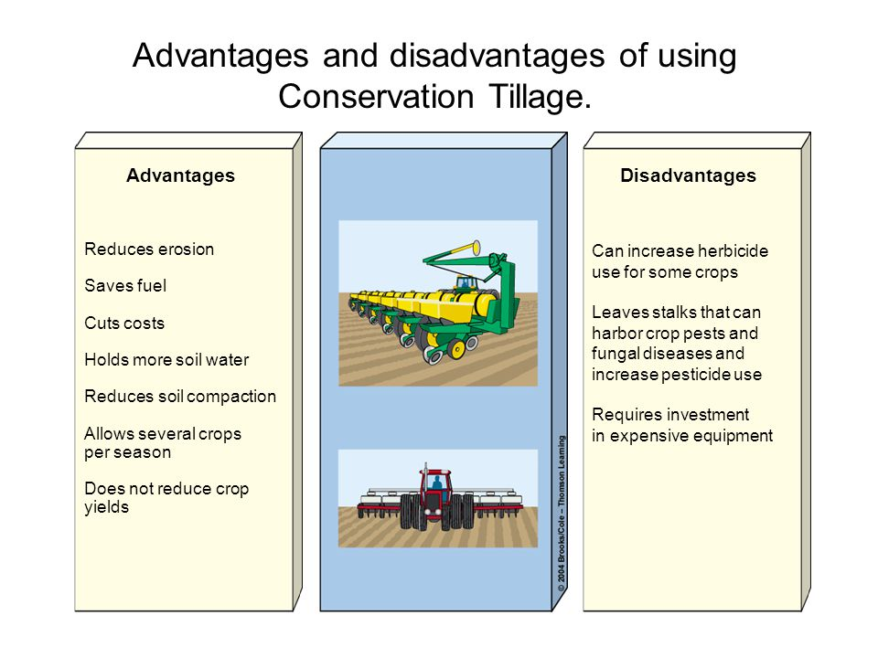 the advantages and disadvantages of using pesticides in agriculture 'all right, [] let's take a look at the advantages and disadvantages of agriculture advantage: controllable food supply you might have droughts or.