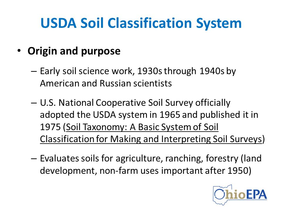 Using soil classification description data ppt video for Soil taxonomy