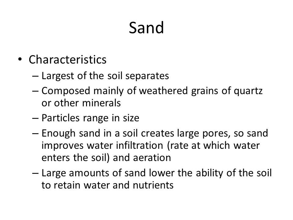 Physical properties of soil ppt video online download for What are soil characteristics