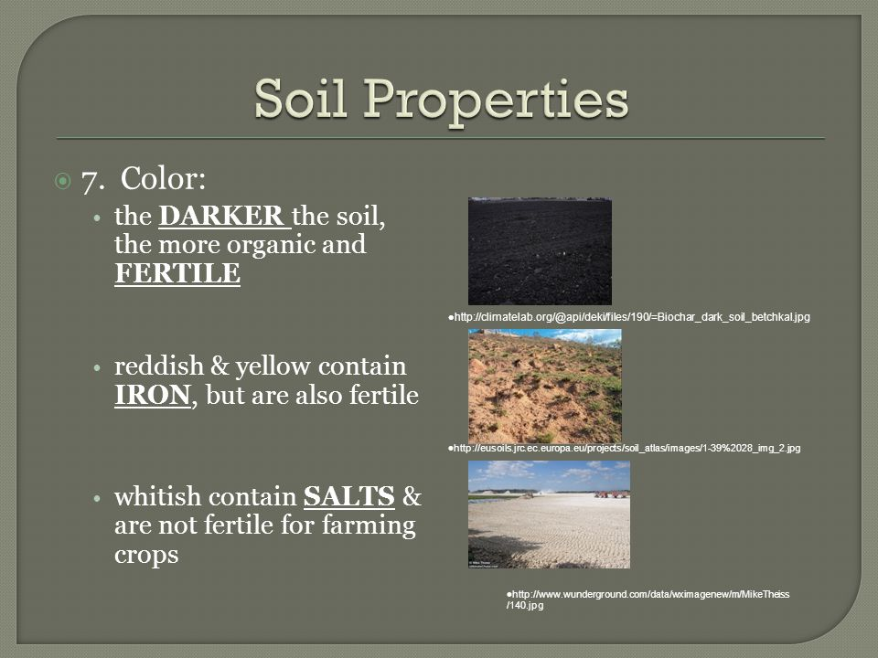 Weathering soil ppt download for Soil yellow color