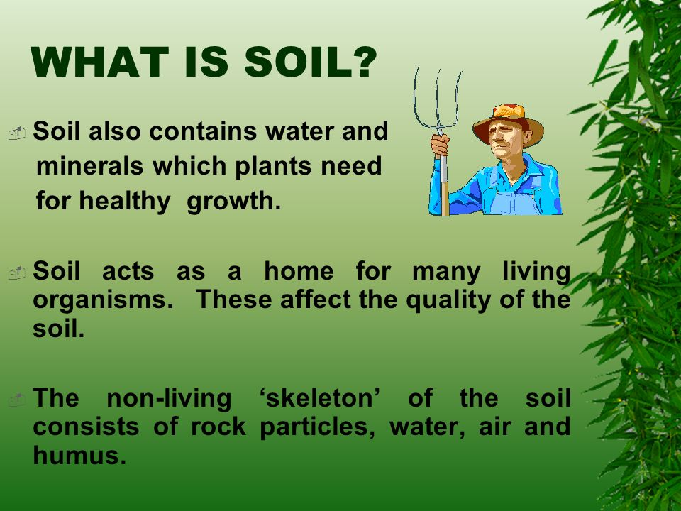All about soil ppt video online download for What is soil a mixture of