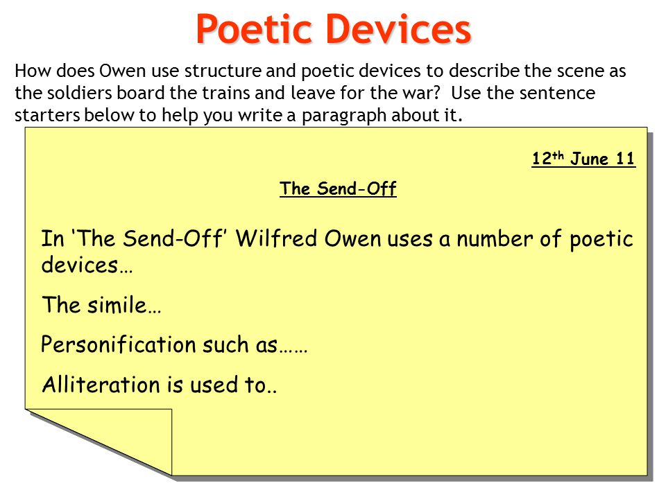 literary devices ppt