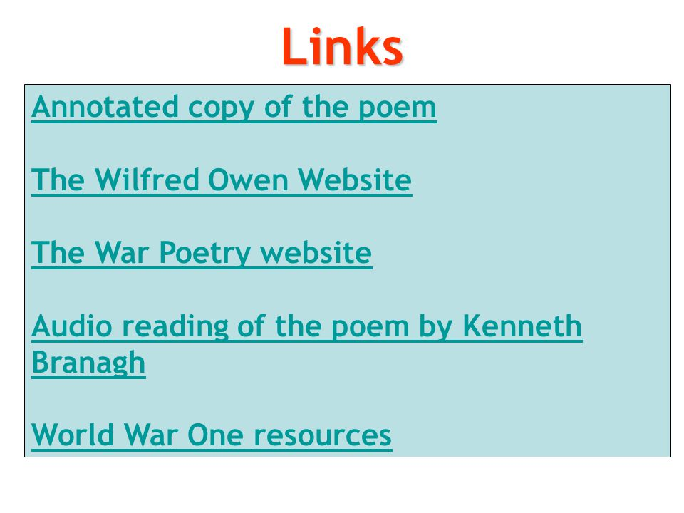 The Send-Off by Wilfred Owen