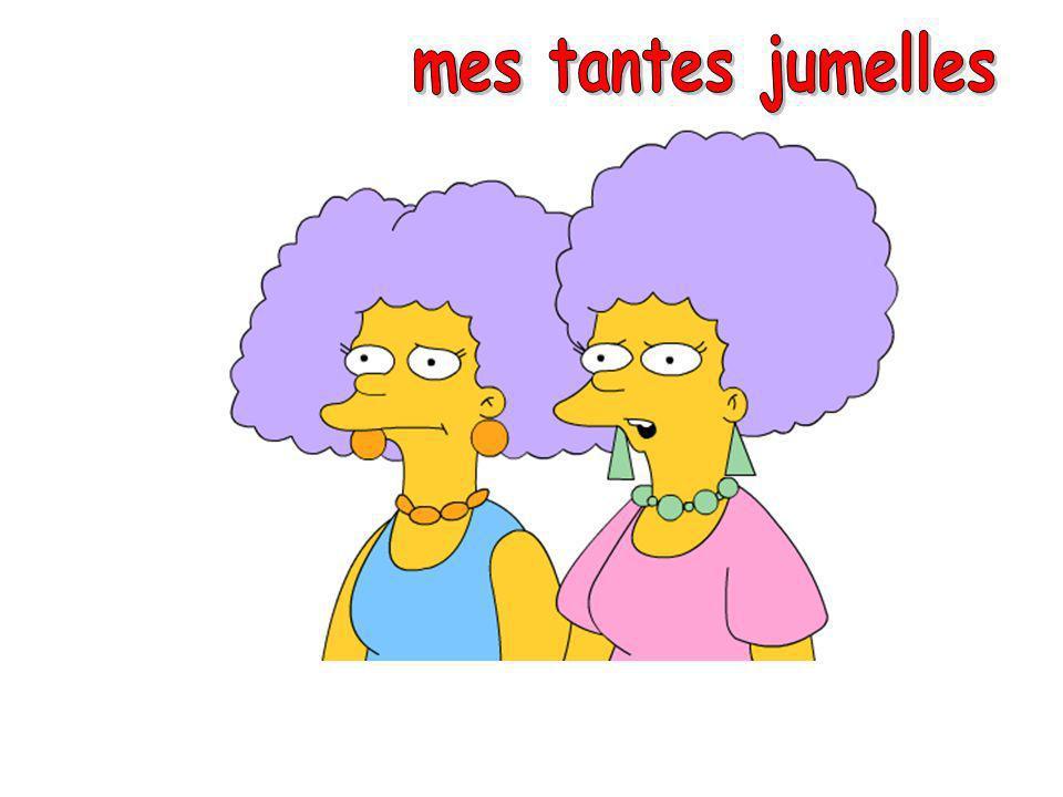 mes tantes jumelles