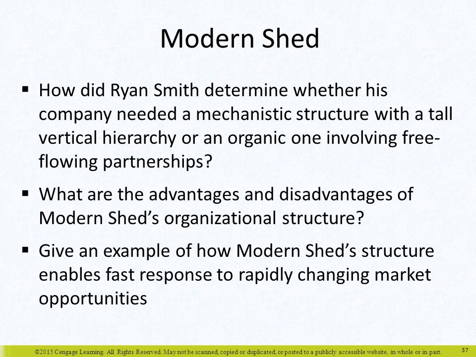 Chapter 15 Organizational Design and Structure ppt download