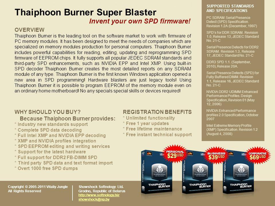 Thaiphoon Burner Super Blaster