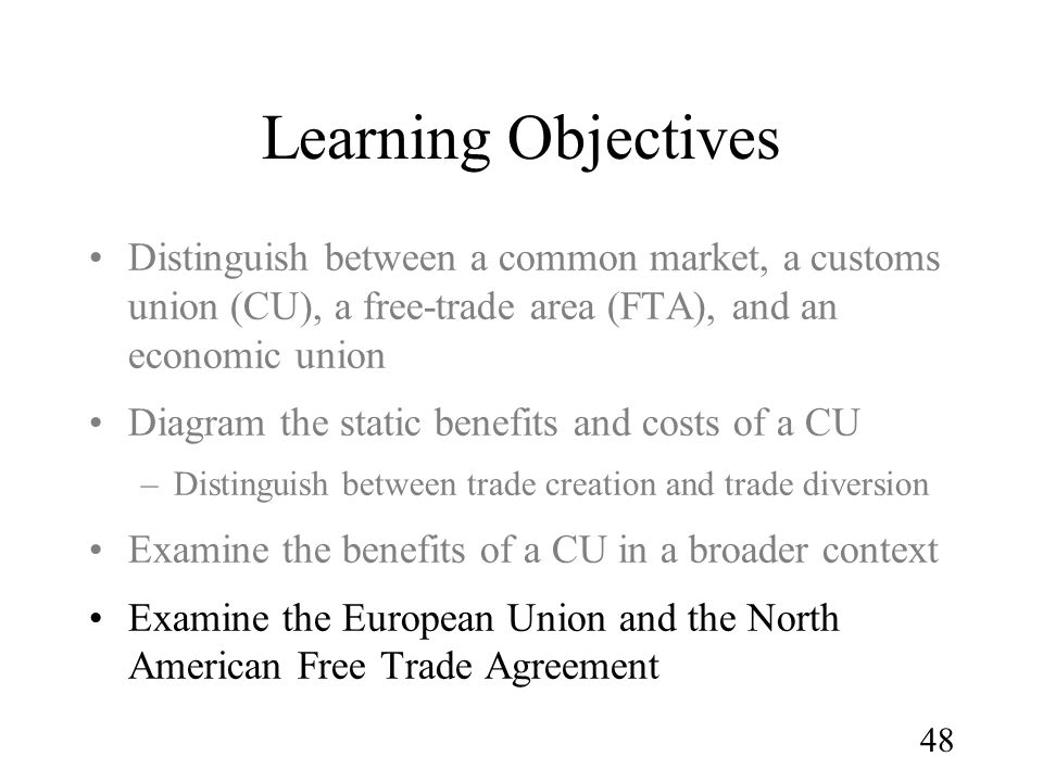 the benefits of the north american free trade agreement Nafta-transitional adjustment assistance program the nafta-transitional adjustment assistance (nafta-taa) program was established under the north american free trade agreement.