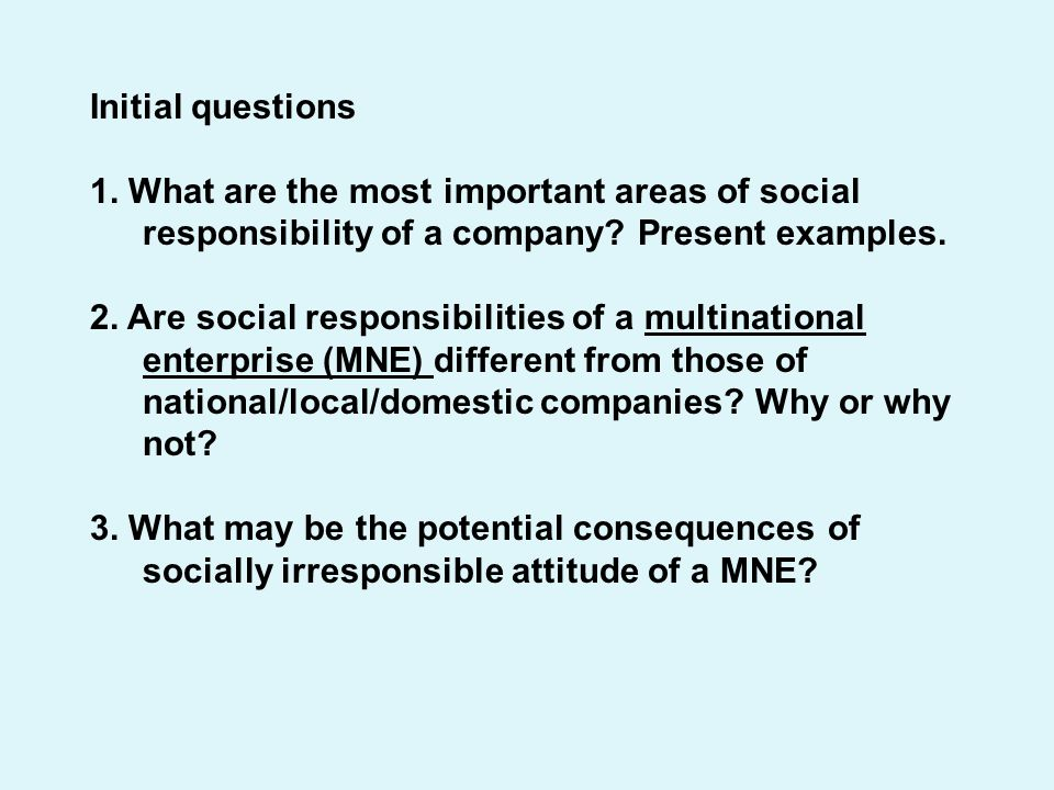 an introduction to the importance of social responsibility to a company Essay introduction writing finding a 5 the financial performance of the company that corporate social responsibility is a self-regulated addition to the.