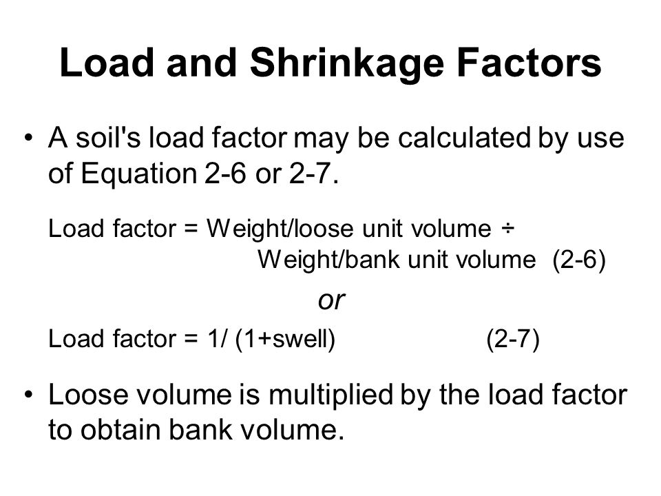 Earthmoving materials and operations ppt download for Soil volume calculator