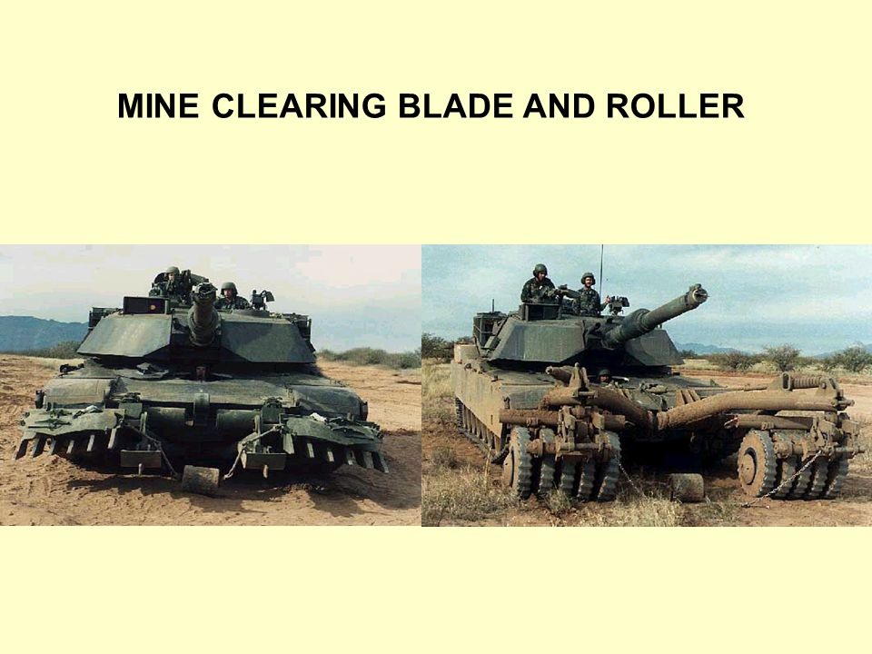 mine clearing blade and roller ppt video online download. Black Bedroom Furniture Sets. Home Design Ideas