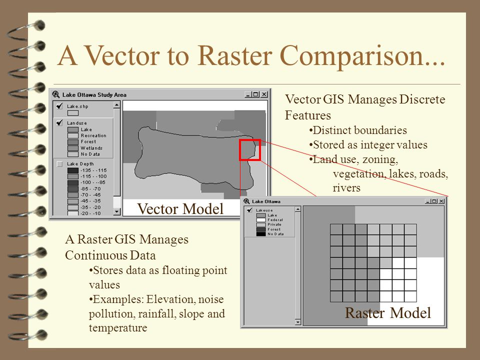 A Vector to Raster Comparison...