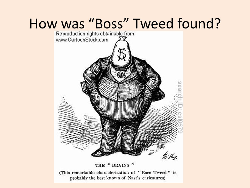 How was Boss Tweed found