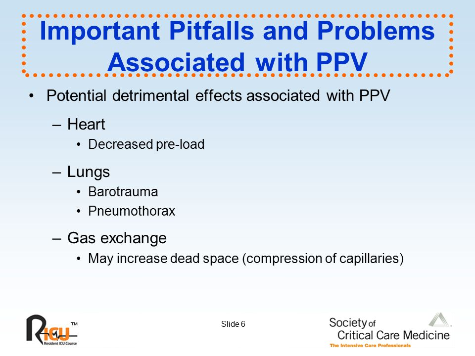 Important Pitfalls and Problems Associated with PPV