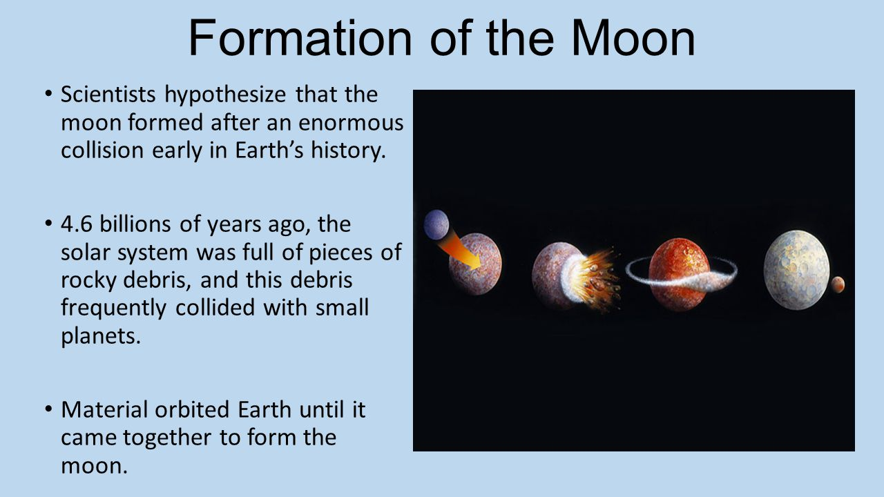 how did the planets and moons form - photo #15