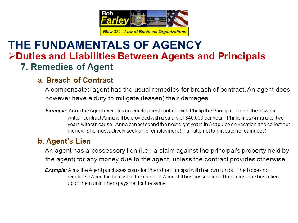 duties between agent and principal What is the 'principal-agent relationship' the principal-agent relationship is an arrangement in which one entity legally appoints another to act on its behalf in a principal-agent relationship, the agent acts on behalf of the principal and should not have a conflict of interest in carrying out the.