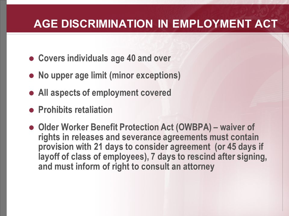 essay about age discrimination Business essays: age discrimination age discrimination this research paper age discrimination and other 63,000+ term papers, college essay examples and free essays are available now on reviewessayscom.