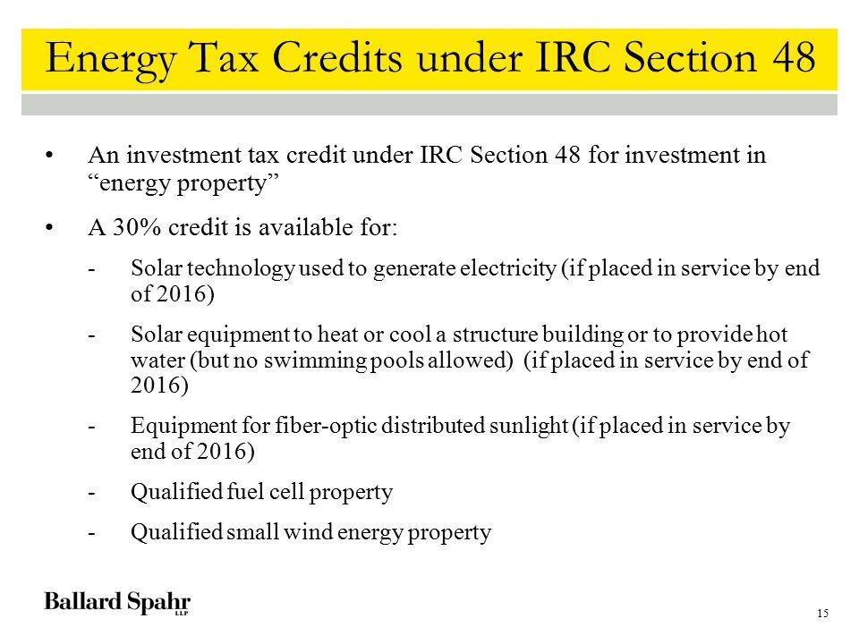 Energy Efficient Building Property Tax Credit