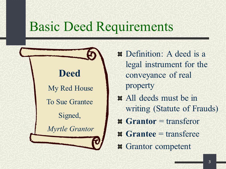 Grantor Definition Real Estate