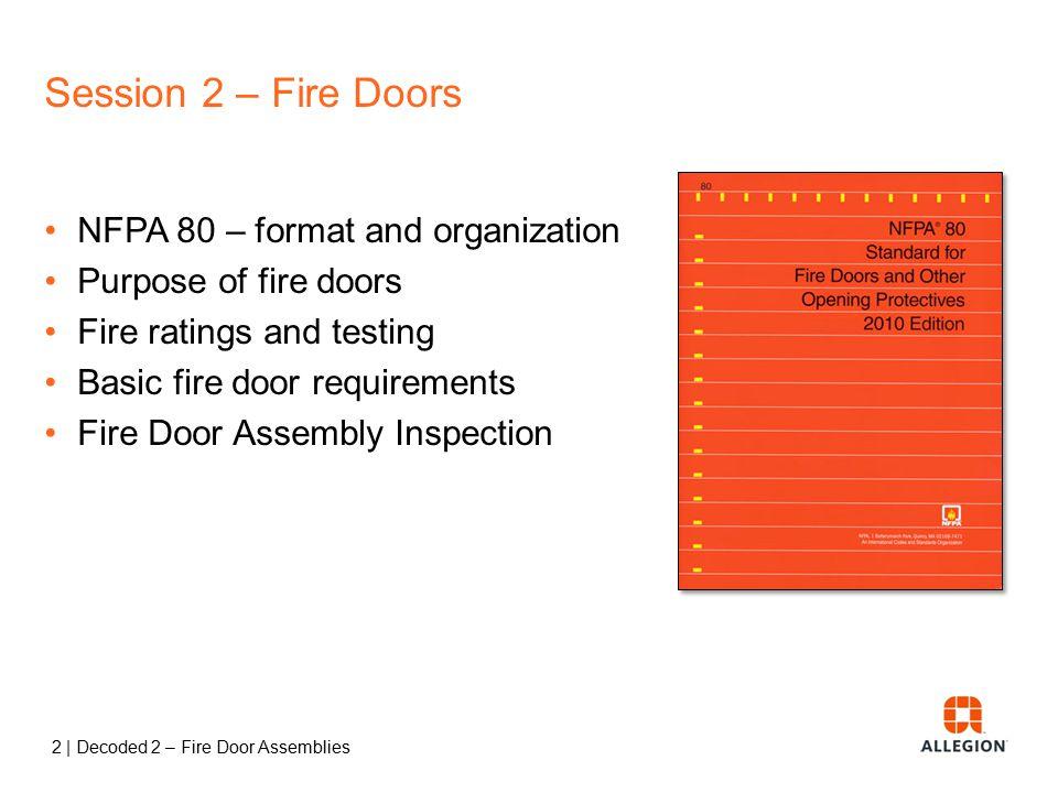 Fire Door Test : Decoded fire door assemblies ppt video online download