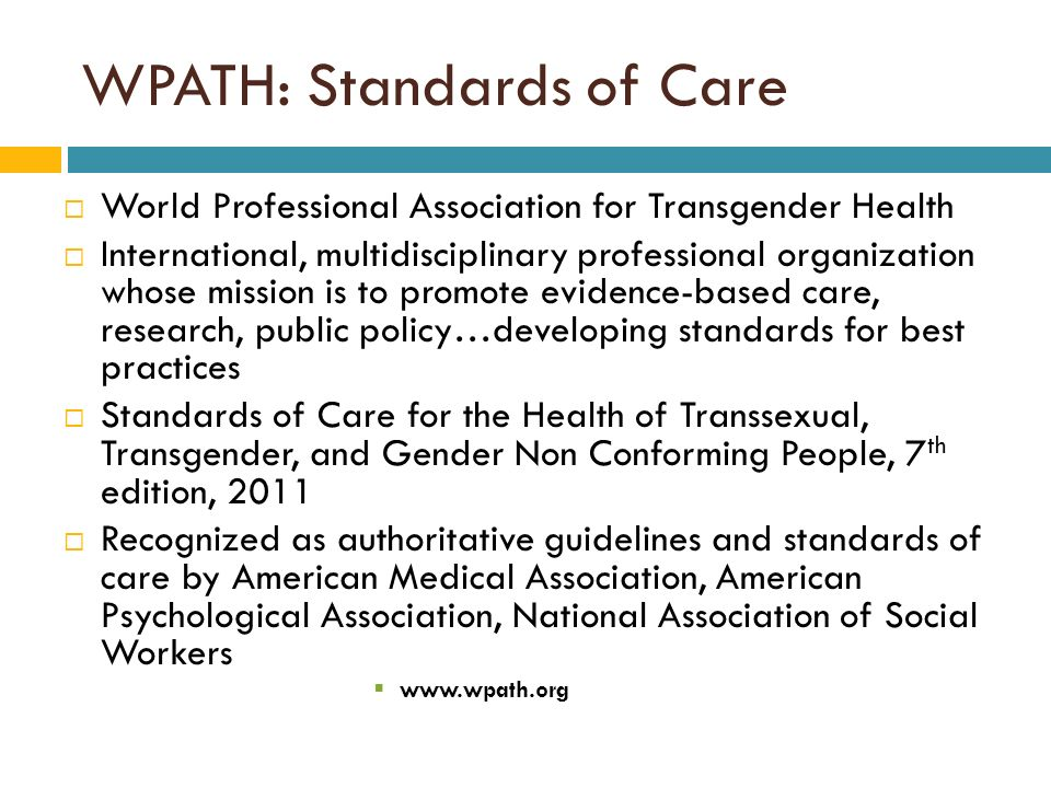 developing a standard of care for Develop standards of care for the treatment of various populations in managed care systems developing standards of care for individuals with co-occurring.
