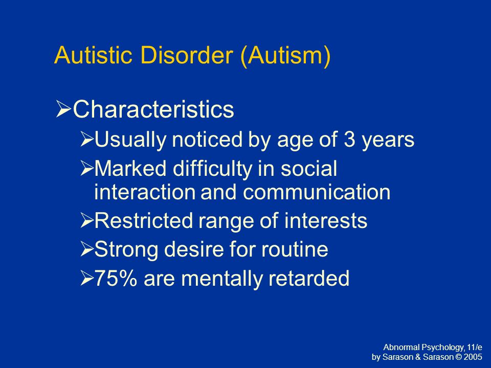 autism and mental retardation 2 essay