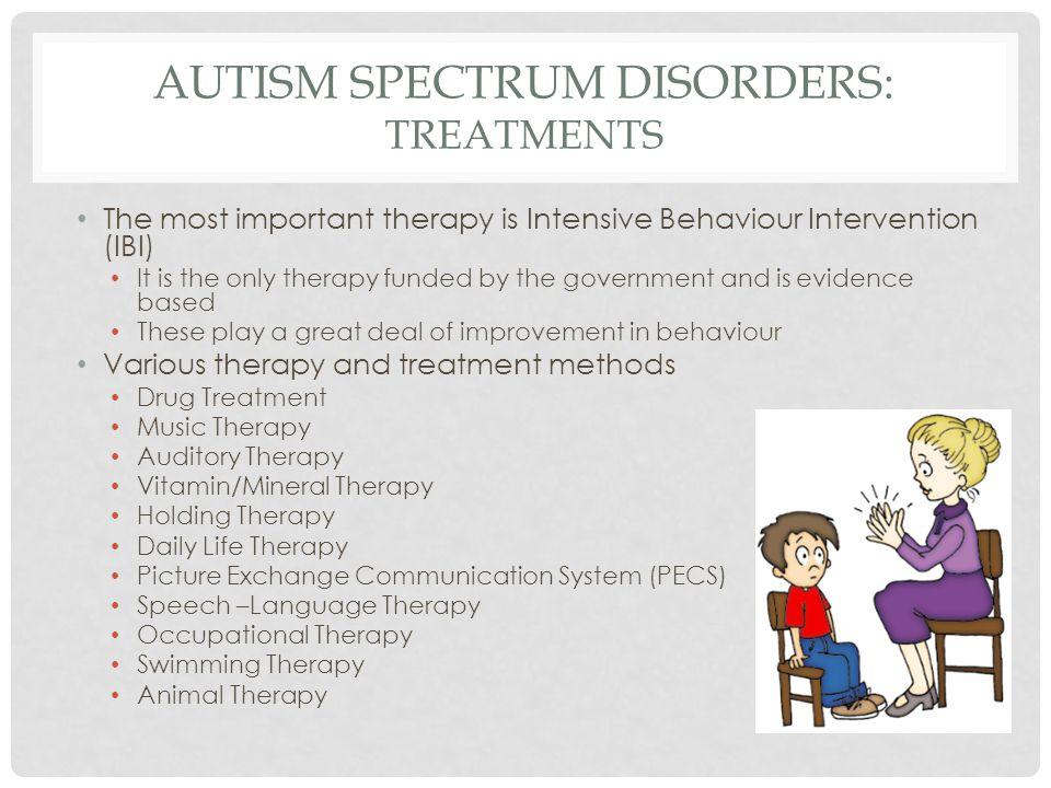 autism treatment methods